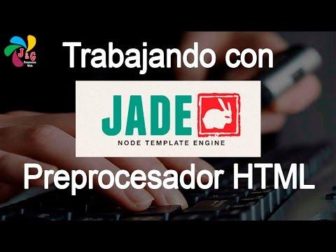 Trabajando Con Jade