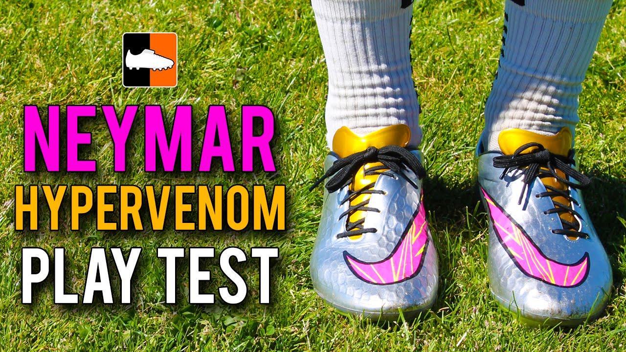 meet 8becb 86e40 Giveaway & Silver Neymar Hypervenom Phatal Play Test