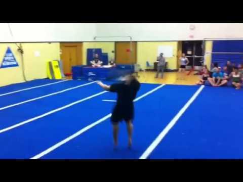 Final floor routine: Josh
