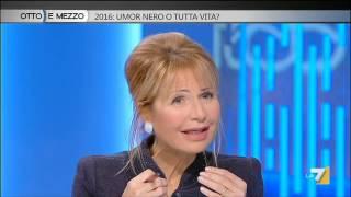 Otto e mezzo - 2016: umor nero o tutta vita? (Puntata 05/01/2016)