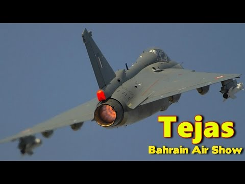 Stunning LCA Tejas in Bahrain Air Show BIAS 2016 {Full Video }
