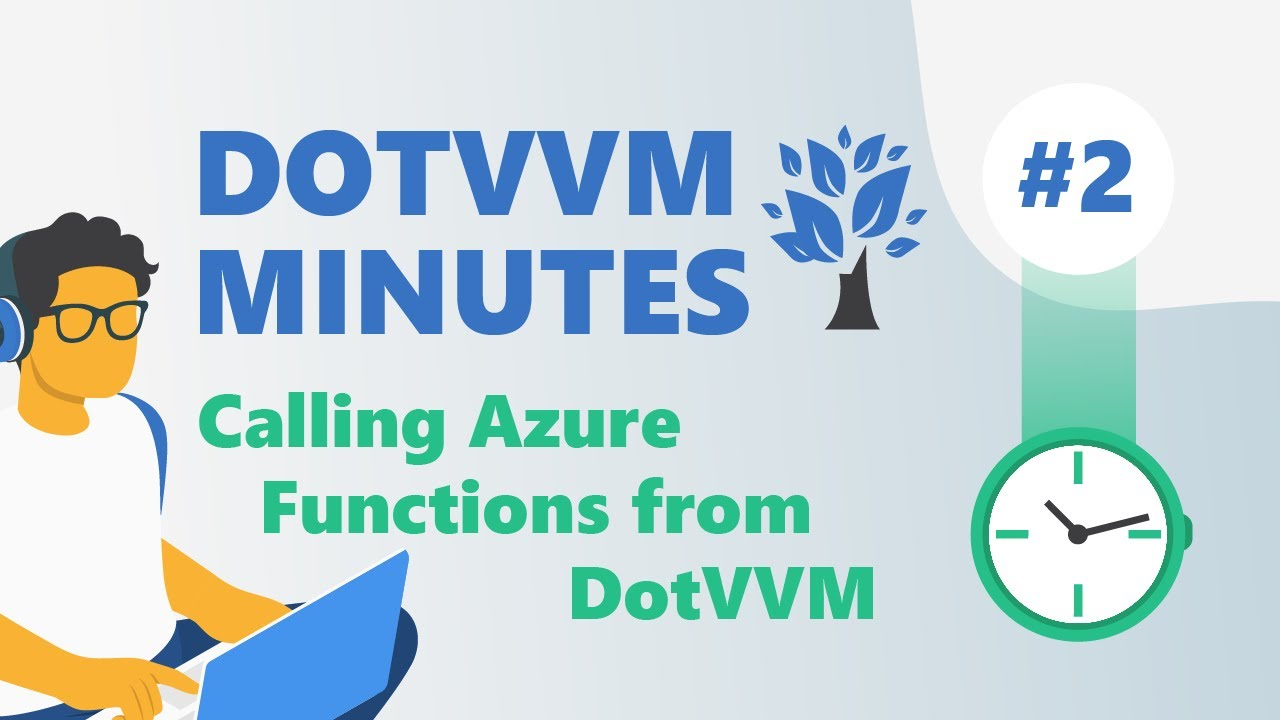 DotVVM Minutes #2: Calling Azure Functions from DotVVM