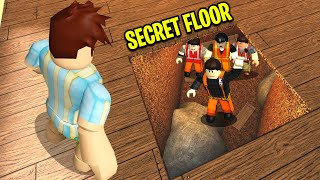 I Found A SECRET FLOOR.. People Were Trapped Inside! (Roblox)