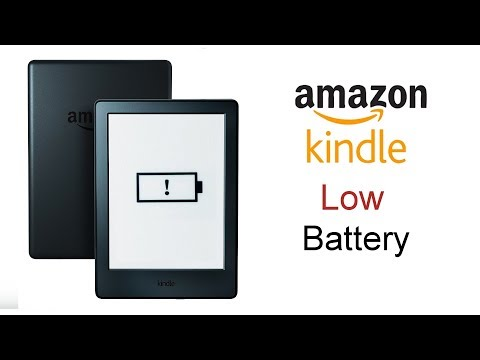 Amazon kindle Battery Low Problem (exclamation mark on