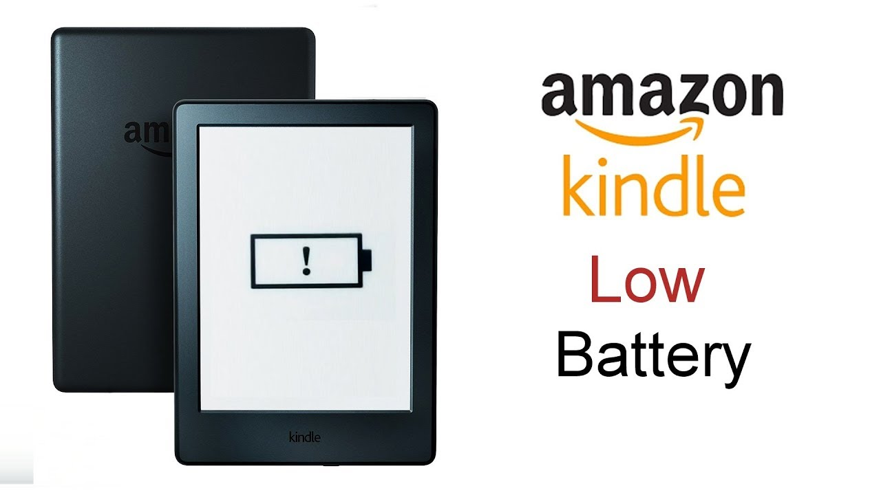 Amazon kindle Battery Low Problem (exclamation mark on battery)