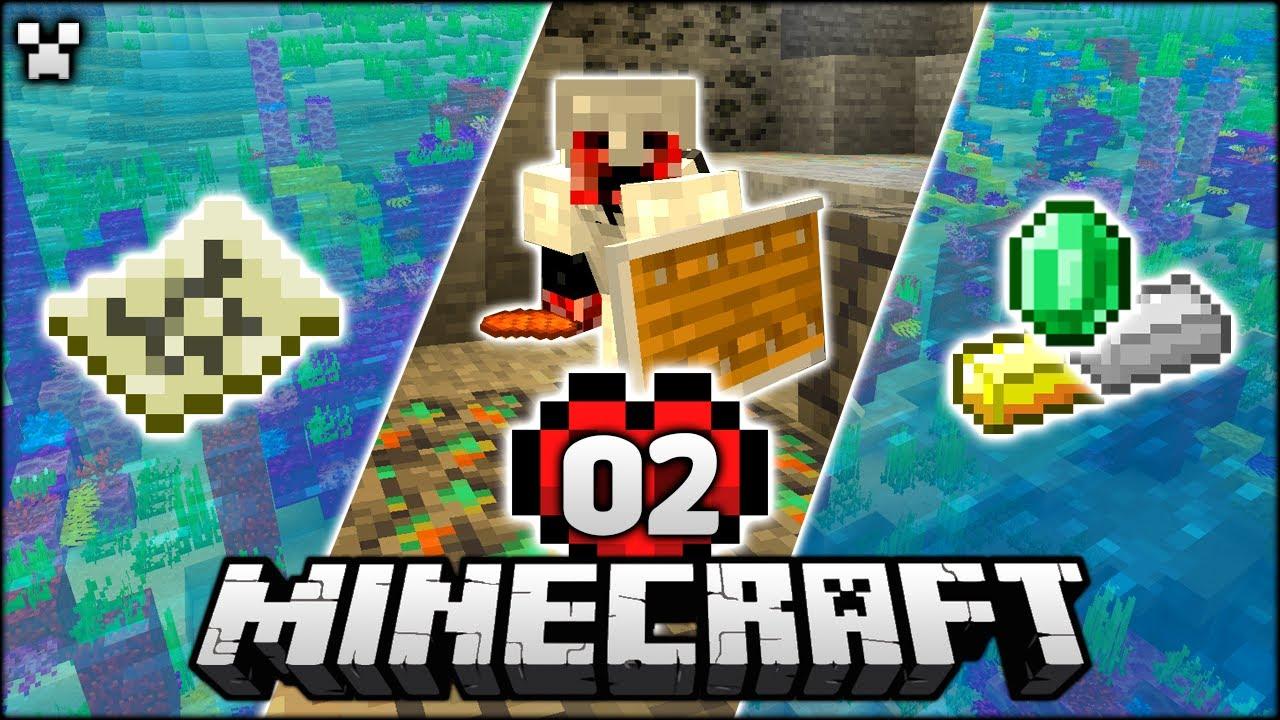 Mineshafts & Adventures! | Minecraft Ultra Hardcore Episode 2 (Minecraft Survival)