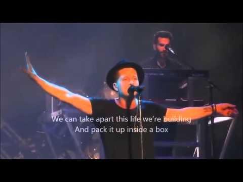 OneRepublic Au revoir ( live Lyrics)