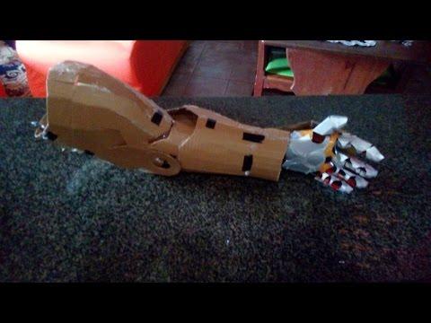 braço  Completo do homem de ferro Mark7