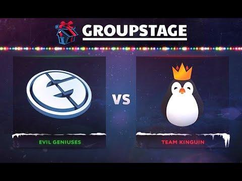 Evil Geniuses vs Kinguin Game 1 - DOTA Summit 8: Group B - @GranDGranT @Fogged @Chessie @Bulba