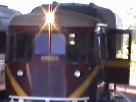 Gulflander at Normanton with footage of the trip to Croydon