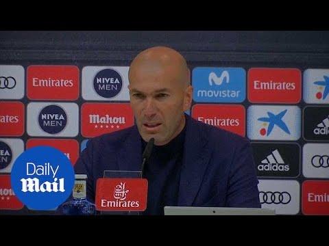 Zinedine Zidane steps down as Real Madrid coach - Daily Mail