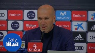 Zinedine Zidane steps down as Real Madrid coach - Daily Mail