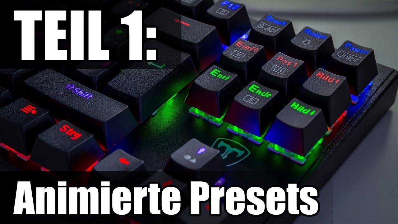 VicTsing Tastatur RGB-Beleuchtung: So stellt man sie ein! - Pro