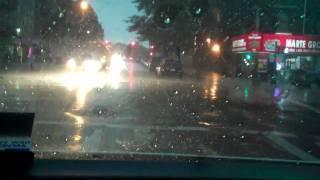 Tornado & Lightning Storm Hits New York City ......