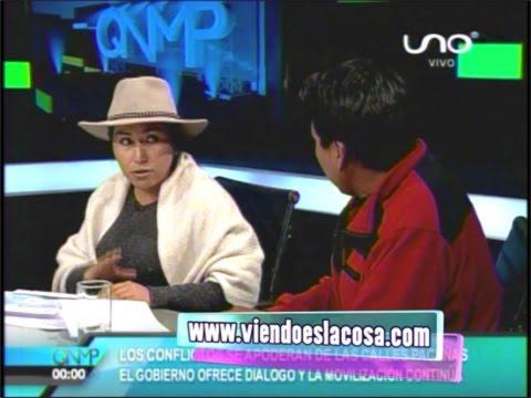 MINISTRA PACO Y LA DISCUSIÓN CON MARCO A. PUMARI VICEPRESIDENTE DE COMCIPO AL VIVO EN QUE NO ME PIERDA