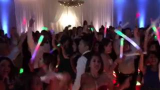 Audiomatic Performing Brown Eyed Girl at a Wedding
