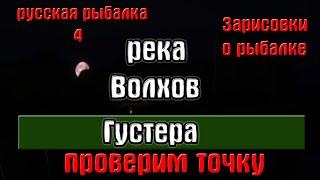 Русская рыбалка 4 рр4 река Волхов Густера Зарисовки о рыбалке