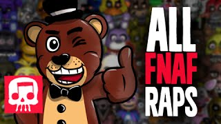 All Five Nights at Freddys Raps 1-4  World by JT Music Updated