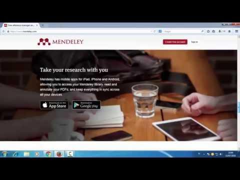 Pengenalan Mendeley