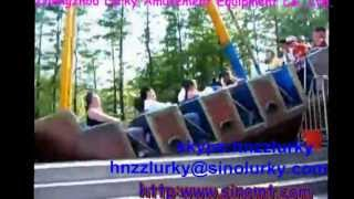 Outdoor Playground Amusement Equipment Swing Pirate Ship Ride For Kids And Adults