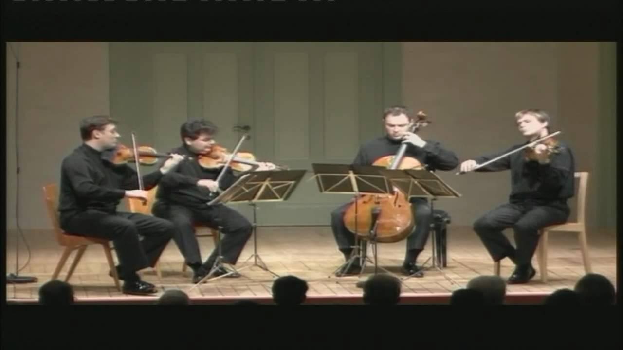 Jerusalem Quartet Joseph Haydn String Quartet Op 77 n 1 II Adagio