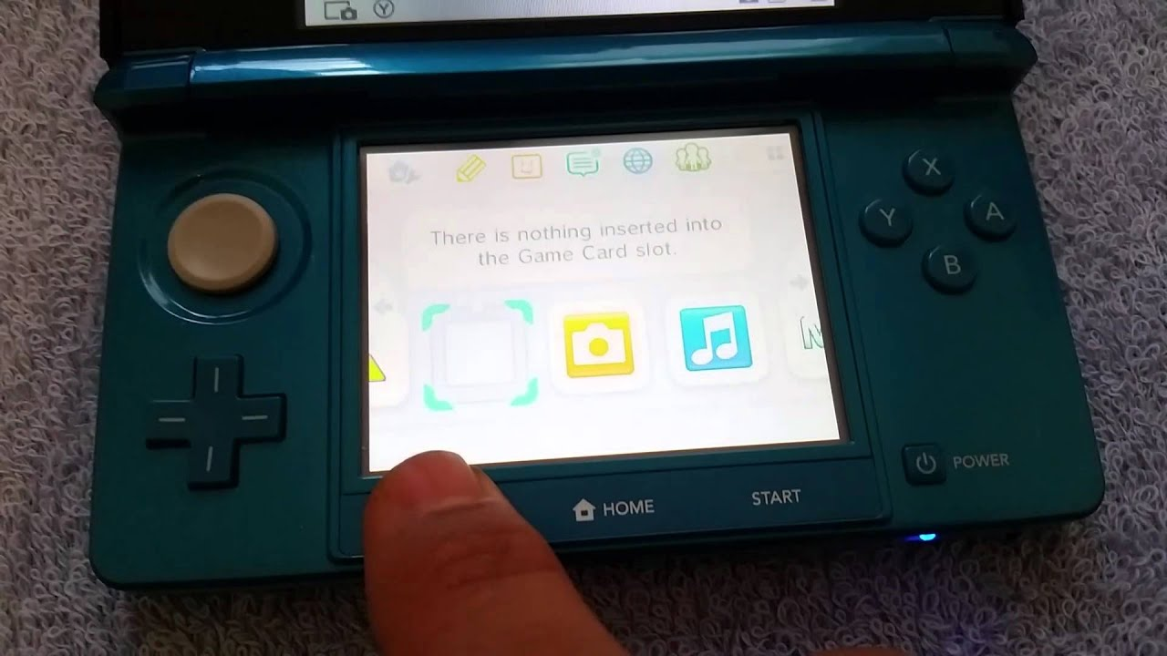 Nintendo 3DS Gateway 3DS Hack for Firmware up to 9 2