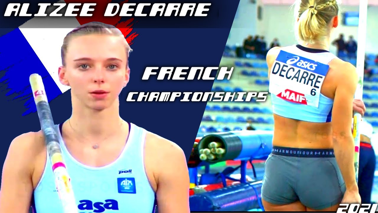 Alizee Decarre*One Athlete* Pole Vault Highlights(French Athletics Championships) 2021