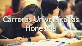 Carreras Universitarias Honestas