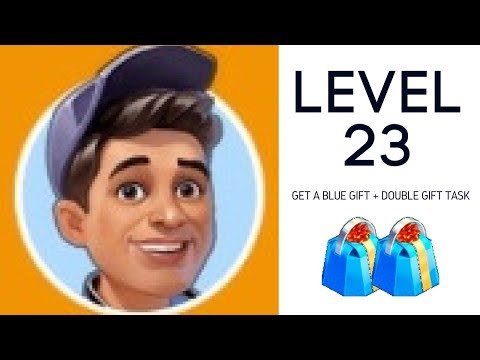 LEVEL 23: get a blue gift from Kevin + festival task - YouTube