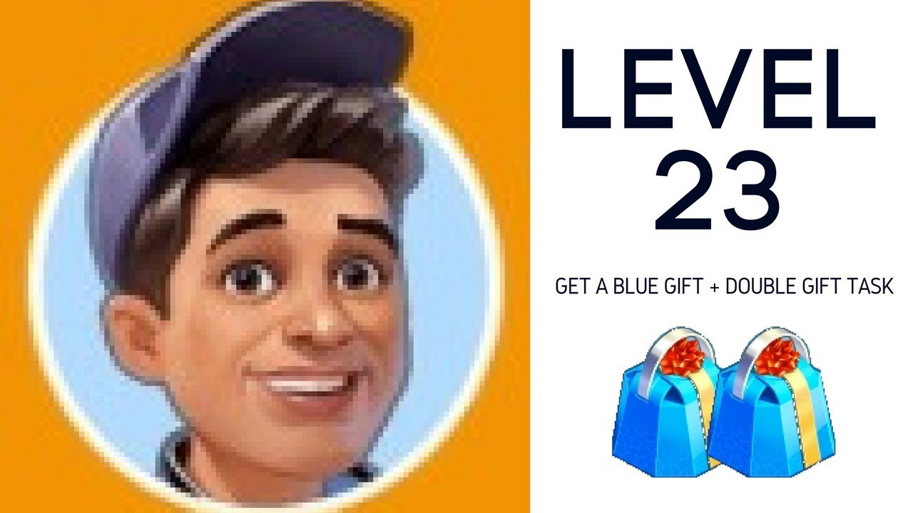LEVEL 23: get a blue gift from Kevin + festival task