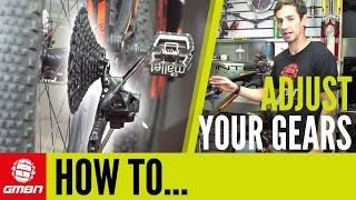 How To Adjust + Index Your Gears – Mountain Bike Maintenance Tips thumbnail