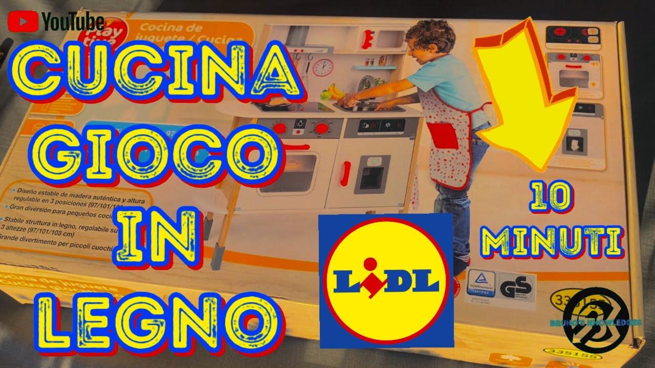 Cucina Lidl 2020 Giocattolo In Legno Idea Regalo Natale Giochi Per Bambini By Bruno S Knowledge Youtube