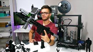 Drukarka 3D w ASG - Najlepszy zakup czy pieniądze wyrzucone w błoto? | ASG Maniak #96 Ender 3