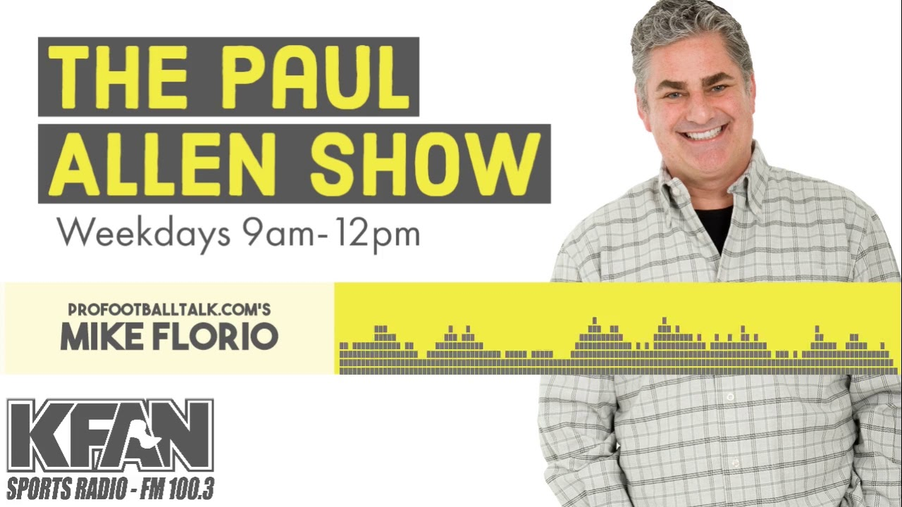 Mike Florio joins Paul Allen to chat NFL, Coronavirus and more...