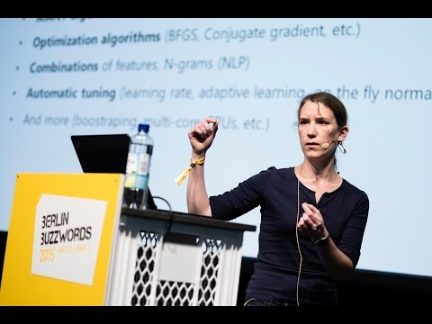 Berlin Buzzwords 2015: Heloise Nonne - Online learning, Vowpal Wabbit and Hadoop #bbuzz on YouTube