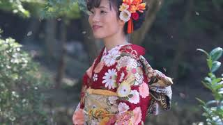 【前撮り】宇治お寺・成人式①【花十色2019】