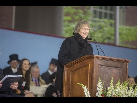 Harvard President Drew Gilpin Faust Address | Harvard Commencement 2017
