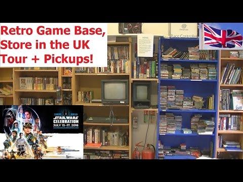 Retro Game Base Store & Star Wars Celebration in London + Pickups - Adam Koralik