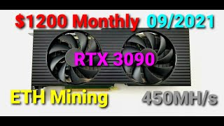 How to Build an Ethereum Mining Rig at Home in 2021 and Making $1200 monthly!