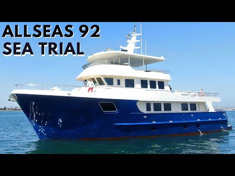 ALLSEAS 92 EXPEDITIE Explorer SuperYacht Sea Trial Liveaboard Travel ROND DE WERELD Yacht Pt.3