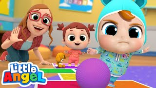 Download Playtime at School | Little Angel Kids Songs and Nursery Rhymes Mp3 and Videos