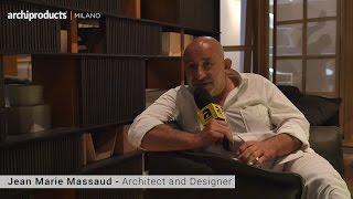 Salone del Mobile.Milano 2016 | POLTRONA FRAU - Jean Marie Massaud