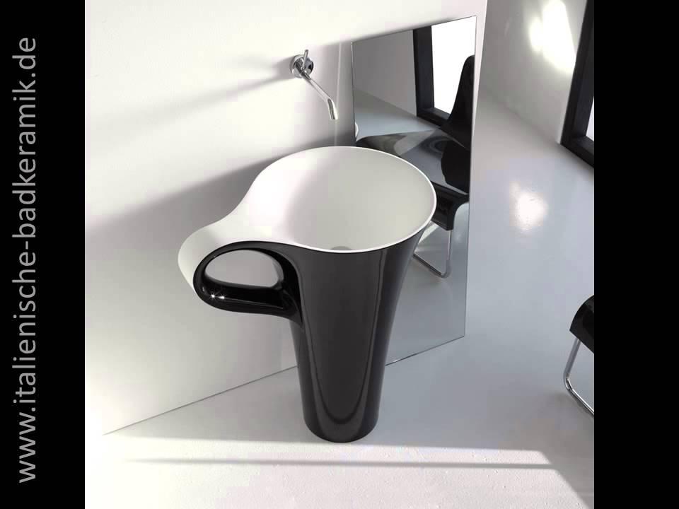 waschbecken tasse kaffeetasse waschtisch schwarz weiss cup. Black Bedroom Furniture Sets. Home Design Ideas