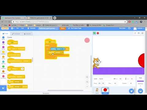 Scratch : Platformer Game Tutorial - Part 2 thumbnail