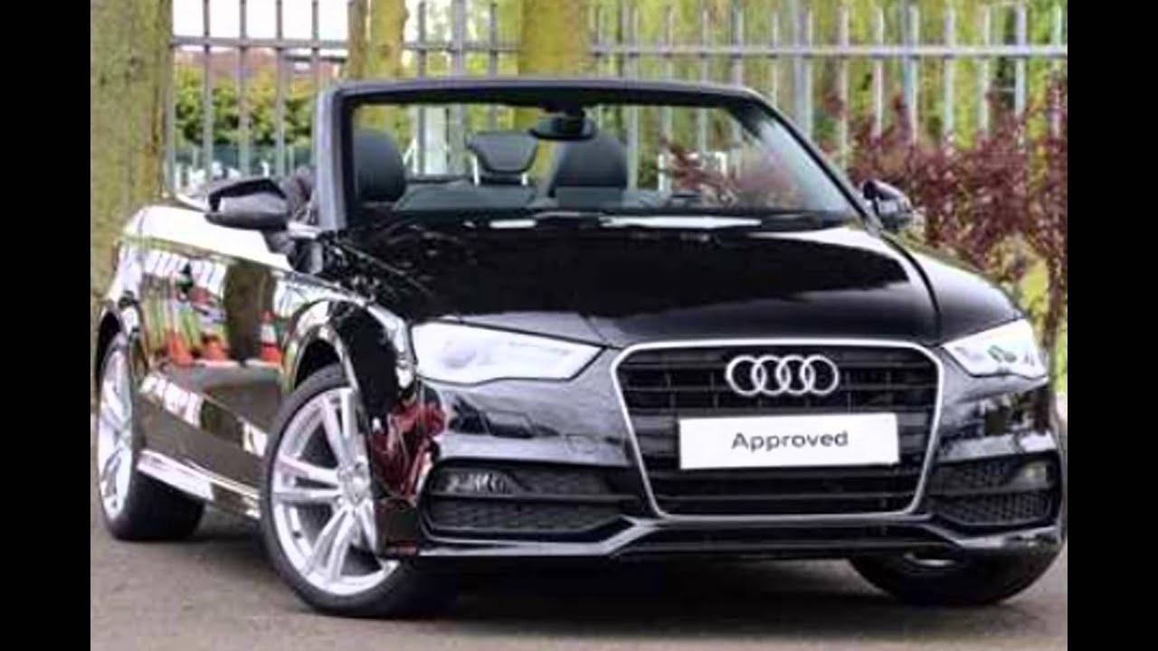 2016 Audi A3 Cabriolet Mythos Black