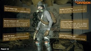 The Division Attributes Sheet | Pwner