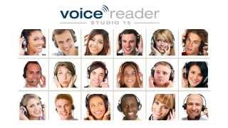 Linguatec Voice Reader Studio 15 TTS - Professional Text-to-Speech in English, French, Spanish ...