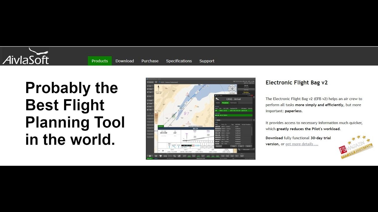 XPD: Review and Tutorial of EFB from Aivlasoft