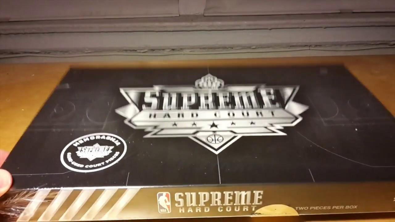 2017-18 Upper Deck NBA Supreme Hardcourt Basketball Box Break and Review d35569f21