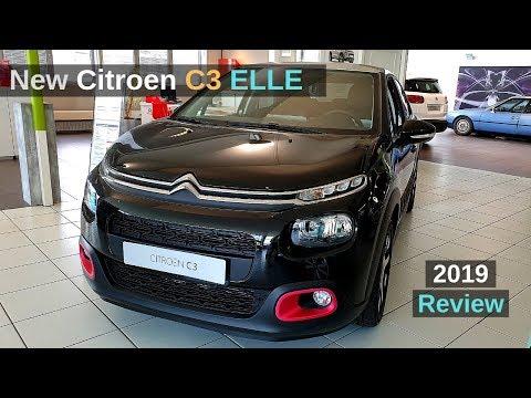 2019 CITROEN C3 ELLE Review Interior Exterior